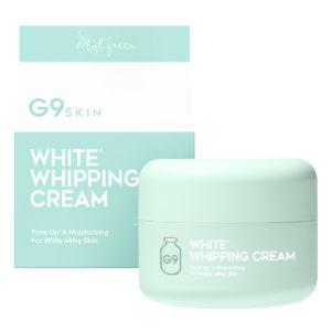 G9スキン・ホワイト・ホイッピング・クリーム ミントグリーン