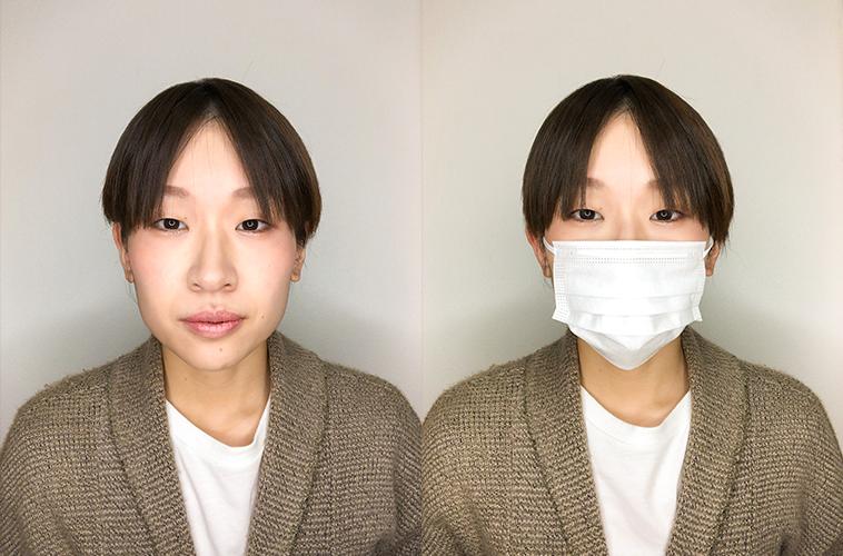 マスクメイクの結果